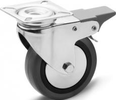 E+G RE.C7 Hjul grå anti-afsmittende