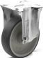 E+G RE.G1 Hjul grå anti-afsmittende