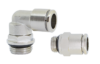 Push-in fittings (forniklet messing)