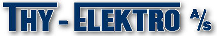Thy Elektro A/S Logo